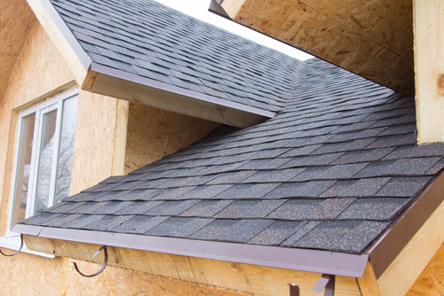 roofing and siding of house